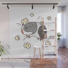 Guinea pig Pattern, Popcorning Wall Mural