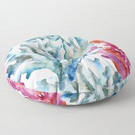 Sea Life Pattern 02 Floor Pillow