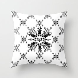 Monster Chic Throw Pillow