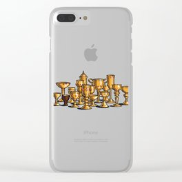 Choose Wisely Clear iPhone Case