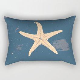 blue seashell Rectangular Pillow