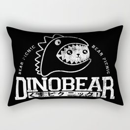 Vintage Dinobear Rectangular Pillow