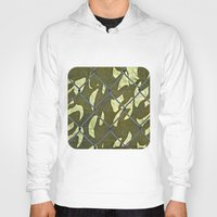 camouflage Hoodies featuring Camouflage  by Ethna Gillespie
