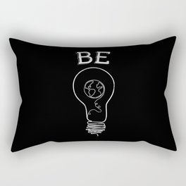 Be Light Rectangular Pillow