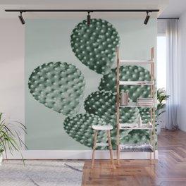Green Bunny Ears Cactus  Wall Mural