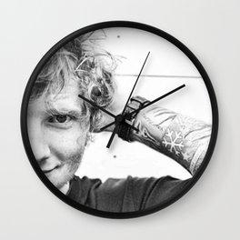 ed sheran Wall Clock