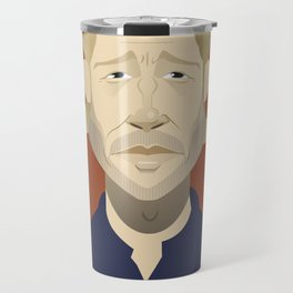 Brad Pitt (World War Z) Travel Mug