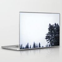 skiing Laptop & iPad Skins featuring Skiing Copper by Amelia Vilona