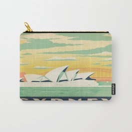 Vintage poster - Sydney Carry-All Pouch