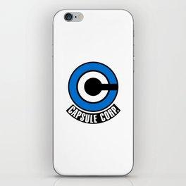 Capsule Corp iPhone Skin