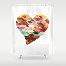 Heart No. 1 Shower Curtain