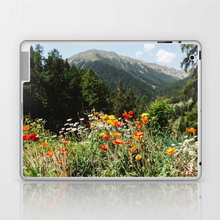 Mountain garden Laptop & iPad Skin