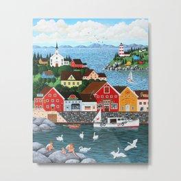 Swan's Cove Metal Print
