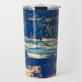 Rocky Shores of Lake Superior Travel Mug