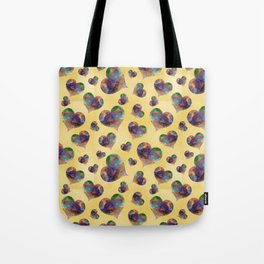 Crystal Hearts Tote Bag