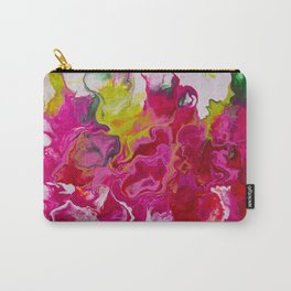 Inviting iris Carry-All Pouch