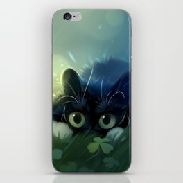 Stealth action iPhone Skin