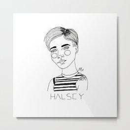 Halsey II Metal Print