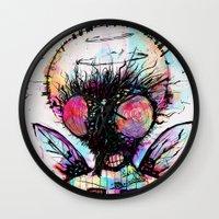 persona Wall Clocks featuring MosconN by DizzyNicky