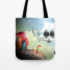 The Music Traveler Tote Bag