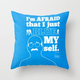 "Arrested Development Tobias Funke ""You're my boy BLUE"" Throw Pillow"