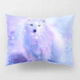 Arctic iceland fox Pillow Sham