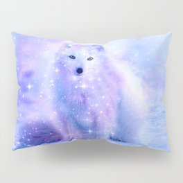 Arctic iceland fox Pillow Sham