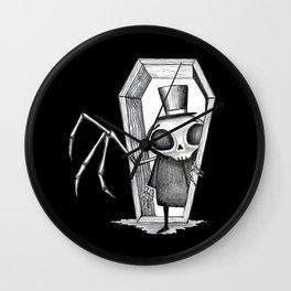 Skeleton Man Wall Clock