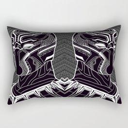 The Prince of Wakanda - Panther Pattern Rectangular Pillow