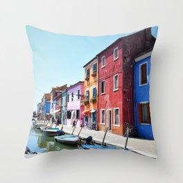 allegro Burano Throw Pillow