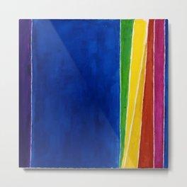 African American Masterpiece 'Atmospheric Effects'' by Alma Thomas Metal Print