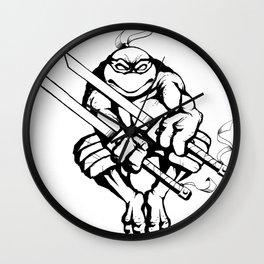 TMNT Leonardo Ninja Turtle Wall Clock