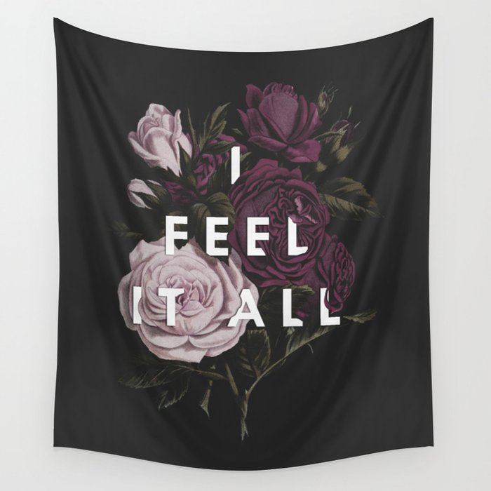 I Feel It All Wall Tapestry