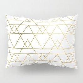 Modern Gold Pillow Sham