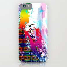 Colorful girl iPhone 6s Slim Case