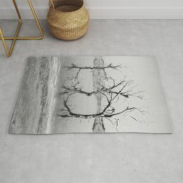 Three Trees in the Sea Rug
