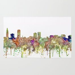 Baton Rouge, Louisiana Skyline SG - Faded Glory Rug