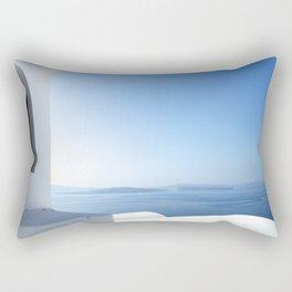 Santorini Serenity Rectangular Pillow