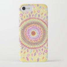 Yellow Sunflower Mandala Slim Case iPhone 7