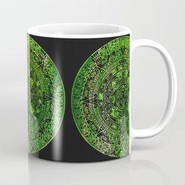 Mayan Calendar Kiwi Lime Coffee Mug