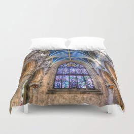 St Giles Cathedral Edinburgh Scotland Duvet Cover