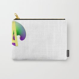 Letter Series Carry-All Pouch