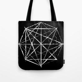 Octagon Diagonals Tote Bag