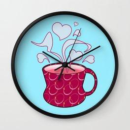 Love Mug Wall Clock