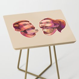 dog people vs cat people Side Table
