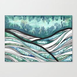Thalassa Canvas Print