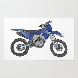 Motocross motorcycle Rug