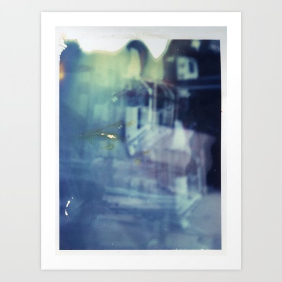 And yet the most ordinary silence reigns in these narrow places Art Print