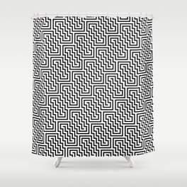 Op Art 150 Shower Curtain