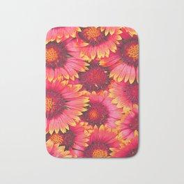 flowers Bright chamomile #society6 Bath Mat